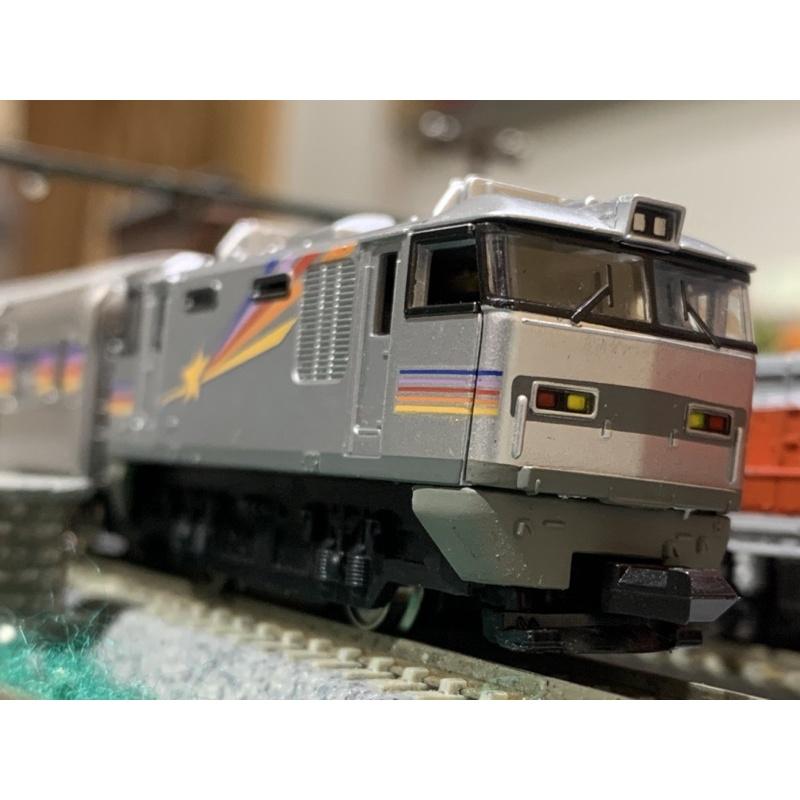 Bandai  B train  EF510彩虹列車3輛組