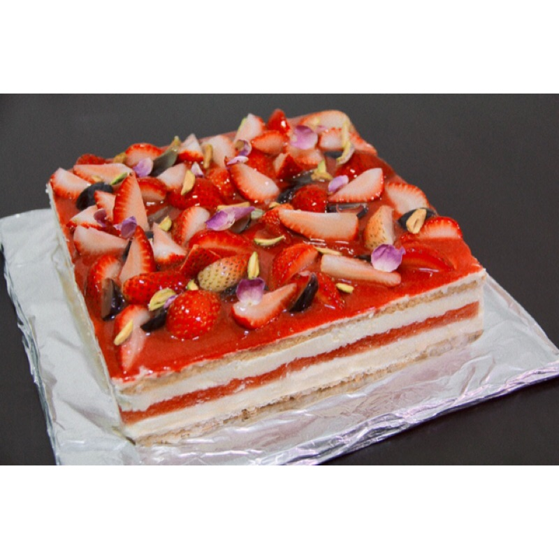 DG西瓜蛋糕#手工甜點