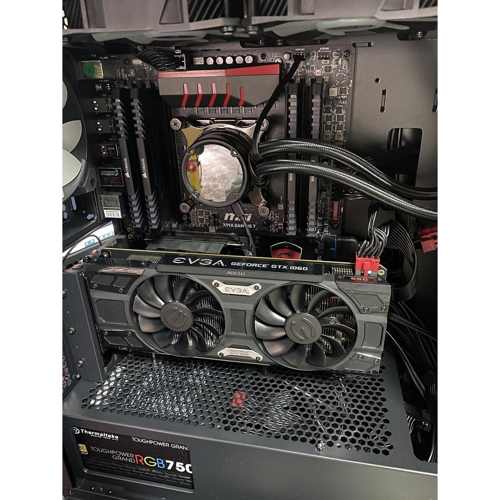 i7 5960X/微星X99A GAMING 7 有檔板