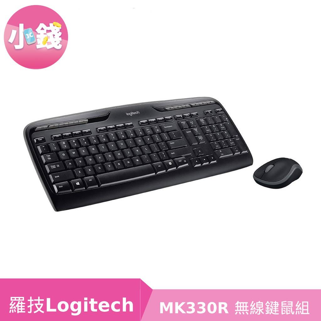 羅技 MK330R 無線鍵鼠組【小錢3C】