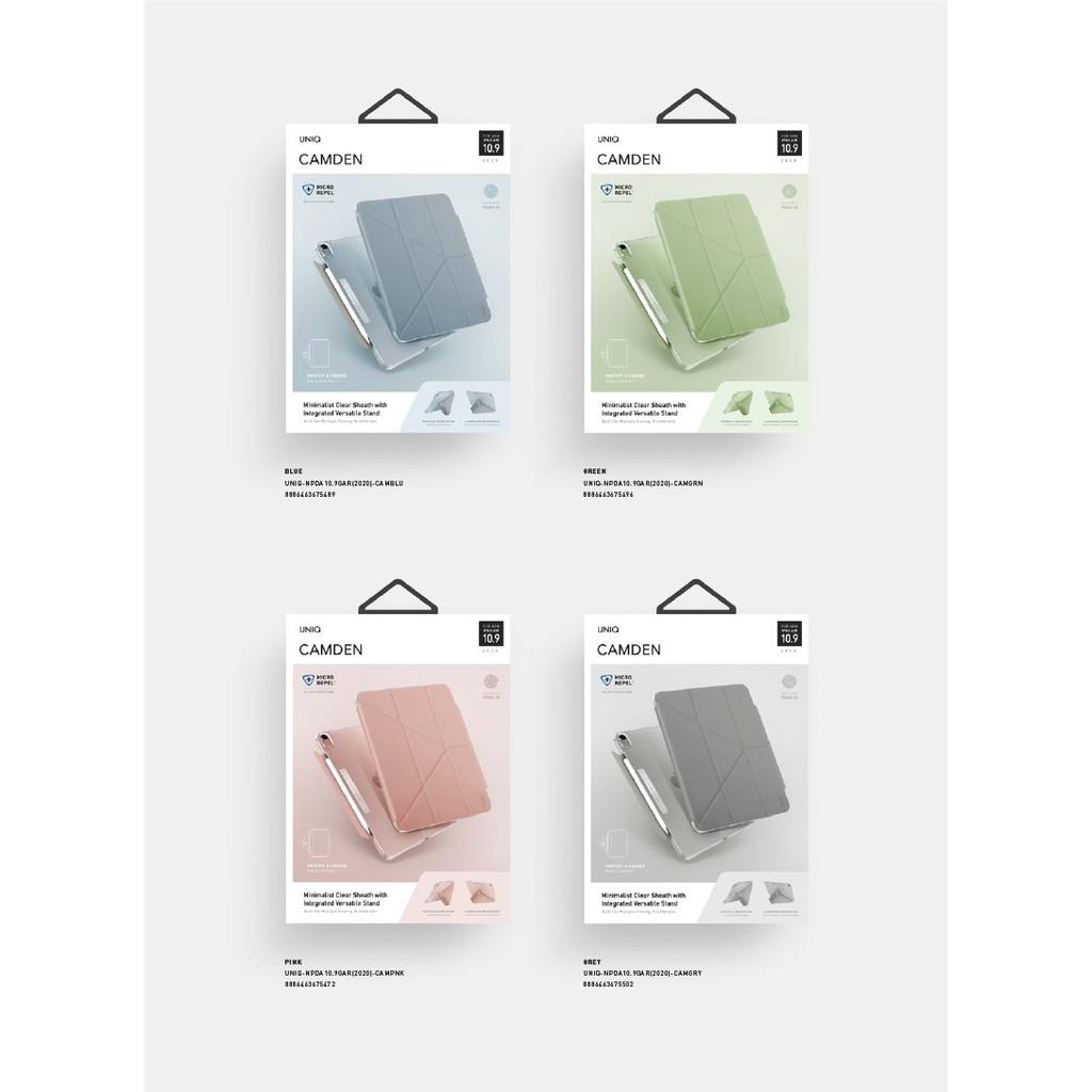 UNIQ Camden 抗菌磁吸極簡透明保護套(iPad Air 10.9吋─4代)