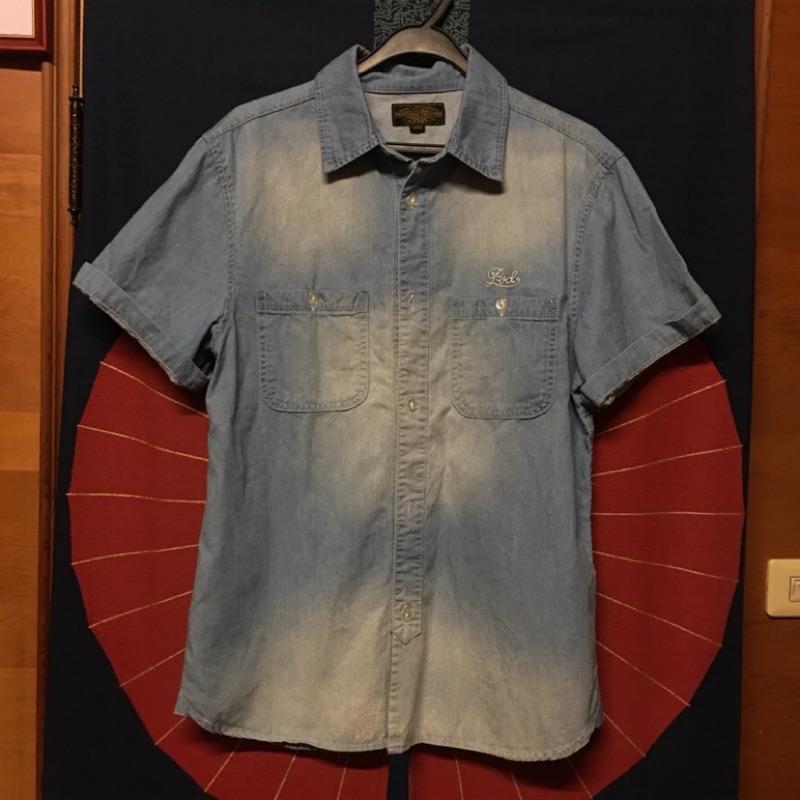 provider短袖牛仔襯衫 L 號