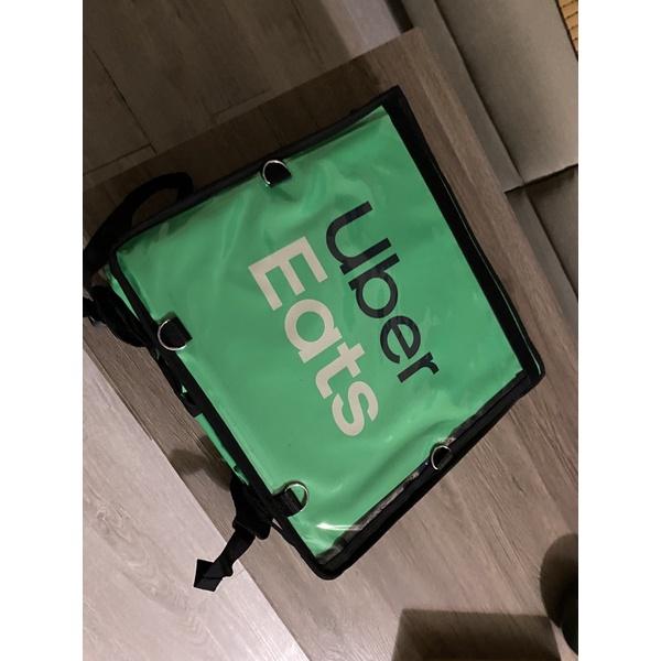 Uber Eat 官方全新綠色大包 未使用過