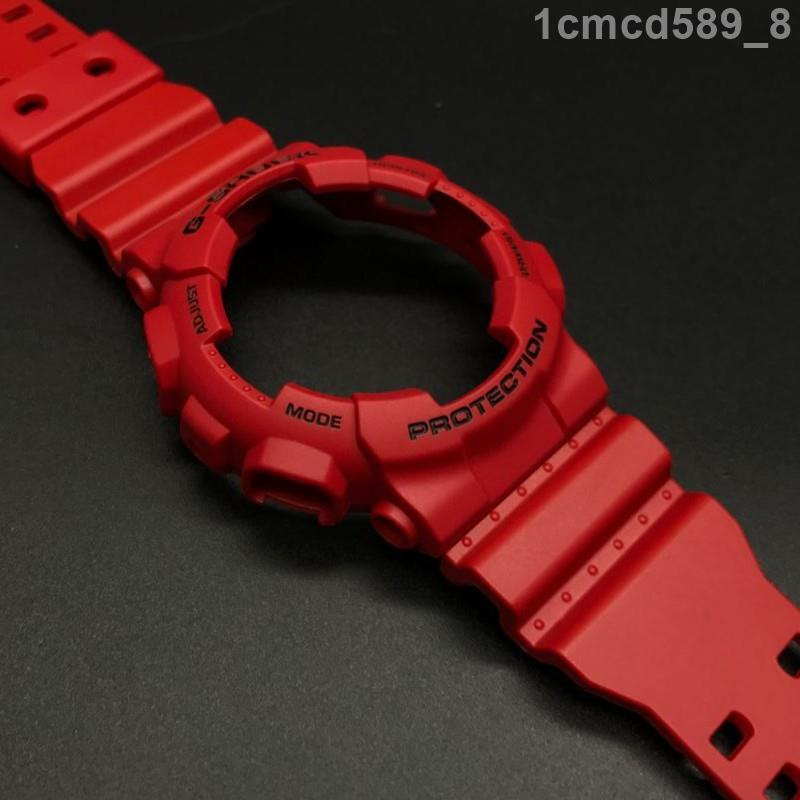 【限時特價下殺】卡西歐錶帶G-SHOCK錶帶錶殼GA-110FC-1A番茄炒蛋款GA-110/120/GD