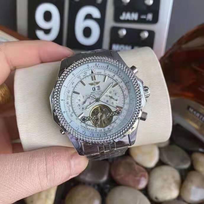 Breitling(百年靈)精品男士腕錶 機械手錶 五針大飛輪  腕錶