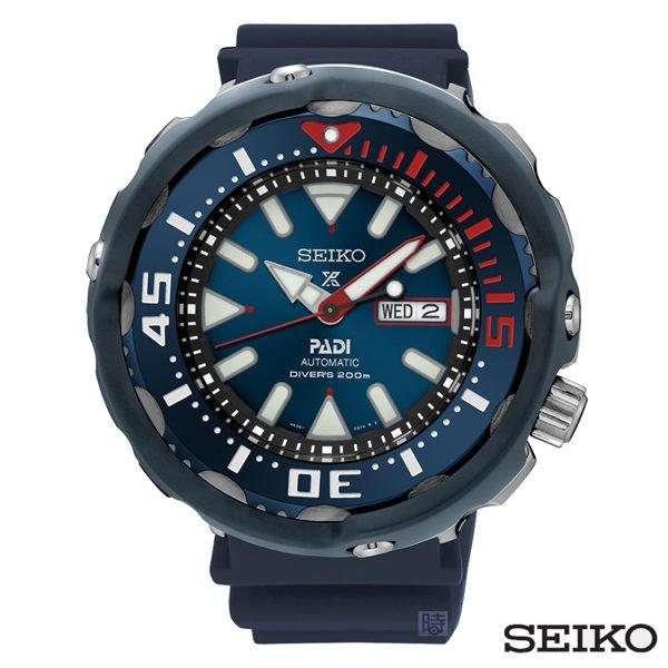 SEIKO 精工 PADI限量潛水機械錶 SRPA83J1 _4R36-05V0B