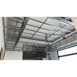 暗架天花板。專業防火板材 新北市