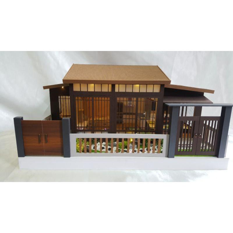 純手工精緻日式風格紙紮屋~模型屋~紙房子
