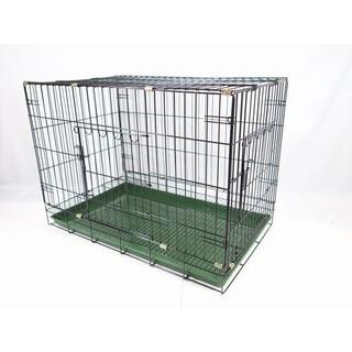 【MIGO寵物柑仔店】2.5尺/ 兩尺半 雙開門 靜電烤漆籠 活動 折疊式 籠子 貓籠/ 狗籠 宜蘭縣