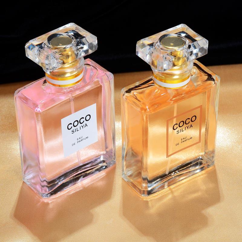 香水女士COCOSILIYA女士持久淡香清新自然女人味小眾香水50ML