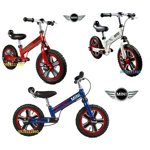 限量優惠授權BMW MINI COOPER TIRST BIKE12吋滑步車划步車平衡車腳踏車學步車push bike