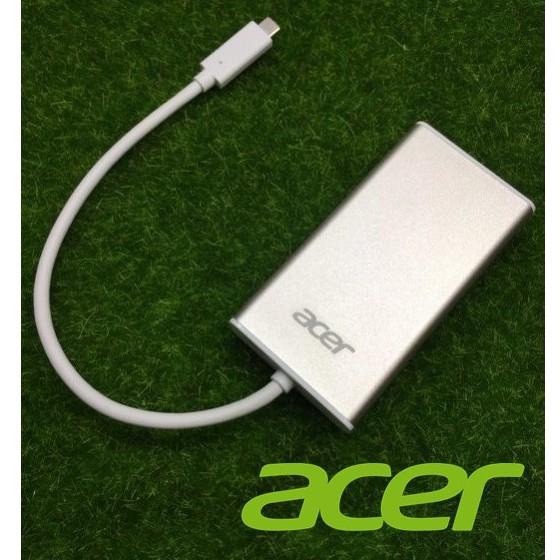宏碁原廠 USB Type-C 多功能擴充卡 擴充阜 HUB HDMI+RJ45+USB3.1 C3-H9074