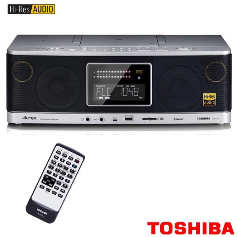 [TOSHIBA] 東芝 Hi-Res高解析音質手提音響 TY-AH1000TW 買一送一,買就送高音質耳塞式耳機