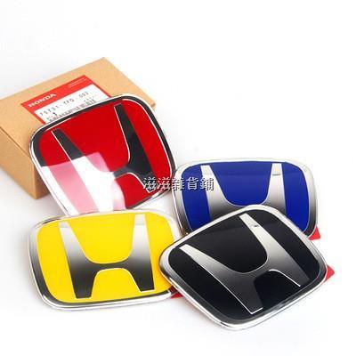 ❁❄[現貨]本田喜美 Honda CRV2代2.5代3代3.5代 4代 4.5代4代 5代 紅H 標誌 前標 後標方向盤