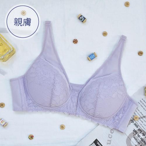 Choy's Dream 巧衣織夢 薄暮花園 絲棉內裏內衣 B 包覆副乳 吸濕排汗纖維 集中 MIT