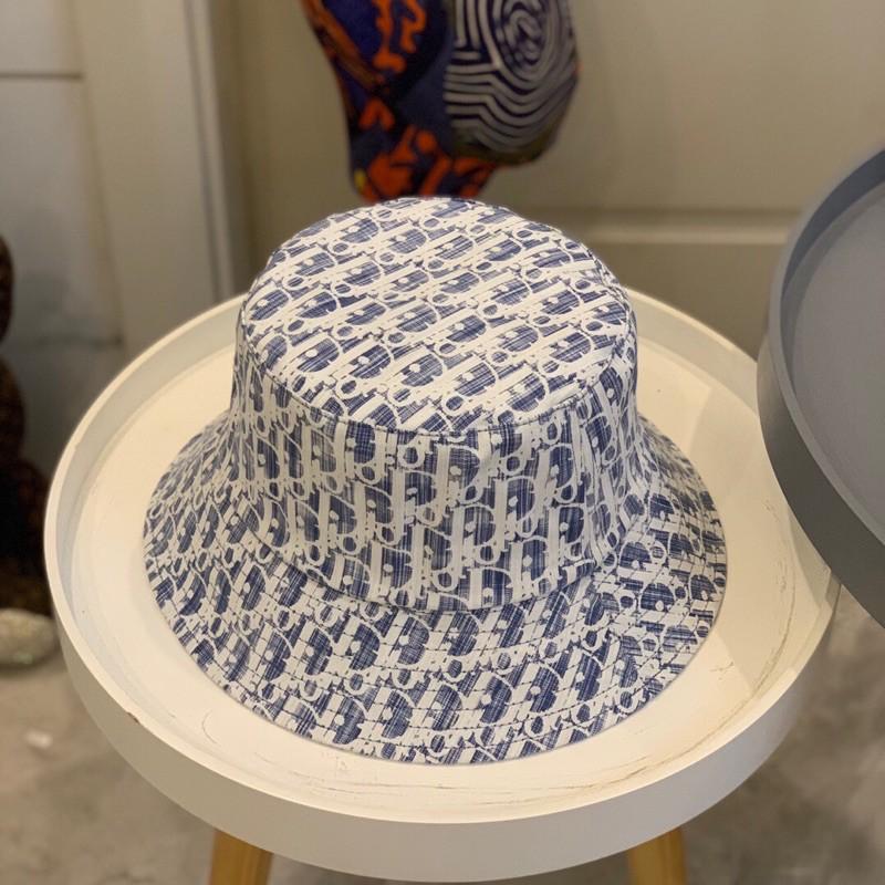 水洗Dior老花漁夫帽
