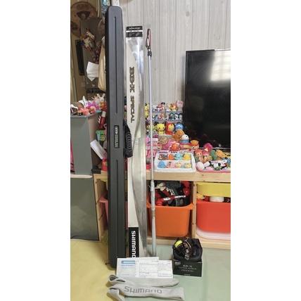 出清阿爸釣具*有免責 送竿袋SHIMANO BB-X SPECIAL 485-520 SZ II 白竿 磯釣竿 釣竿