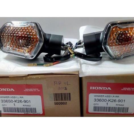 MSX125 HONDA 原廠零件 方向燈總成 舊款 msx 泰規 方向燈 含線組 右前 GROM