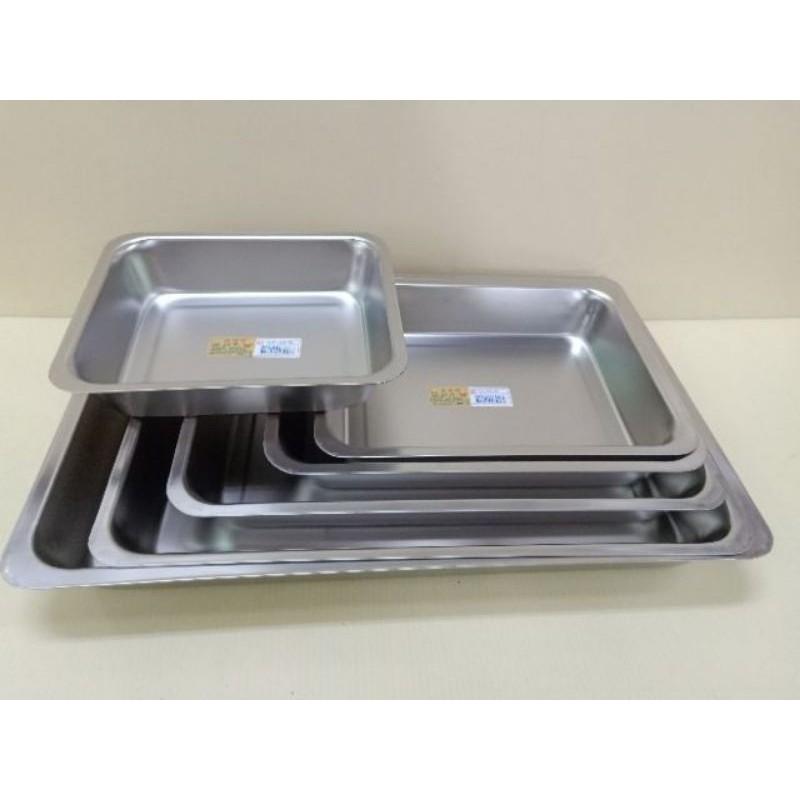蝴蝶牌304不鏽鋼深長方盤 長方盤 方盤 孔盤 瀝水盤 不銹鋼長方盤 烤肉盤 露營盤 不銹鋼烤盤 不銹鋼餐盤