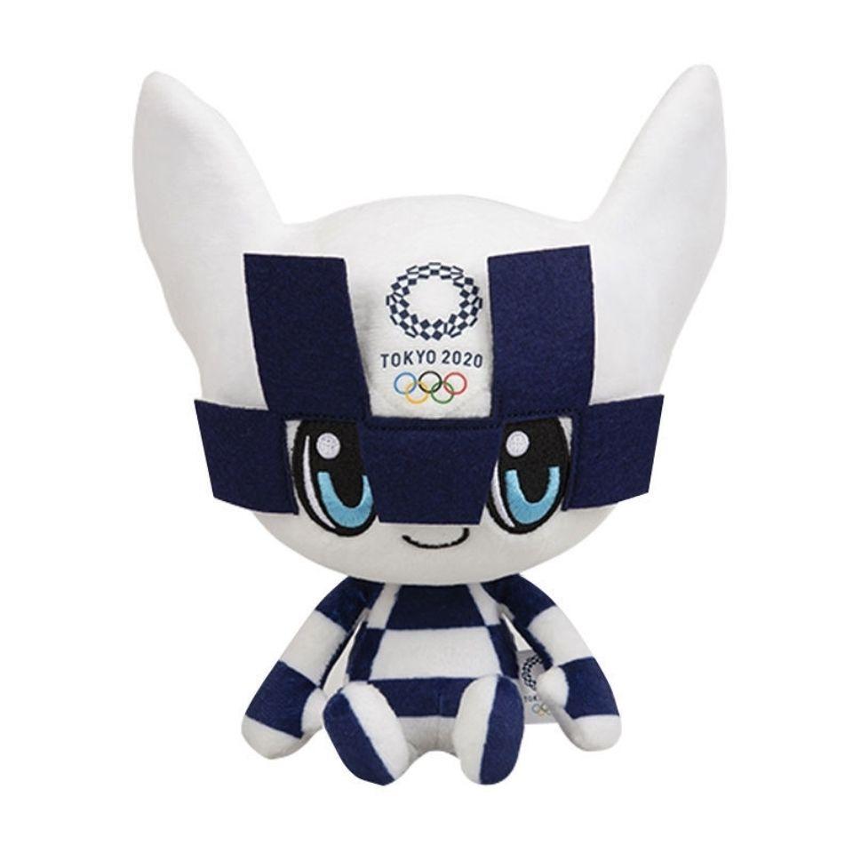 《東京奧運紀念物》2020東京奧運會紀念品吉祥物毛絨公仔玩具禮品賽事Miraitowa禮物
