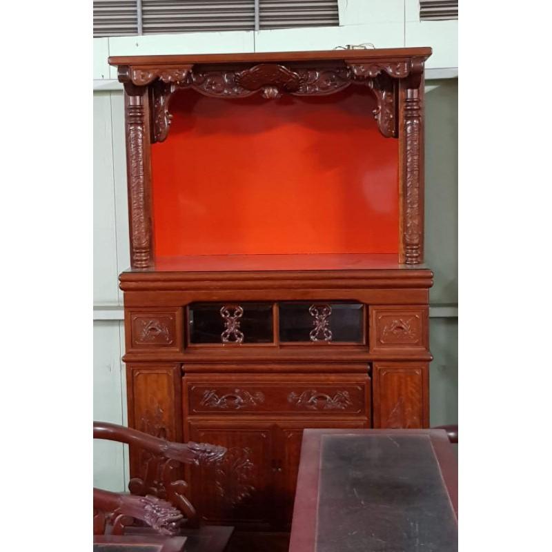 花梨木神明櫥佛桌 一格二手家具 客廳實木家具 懷舊時尚
