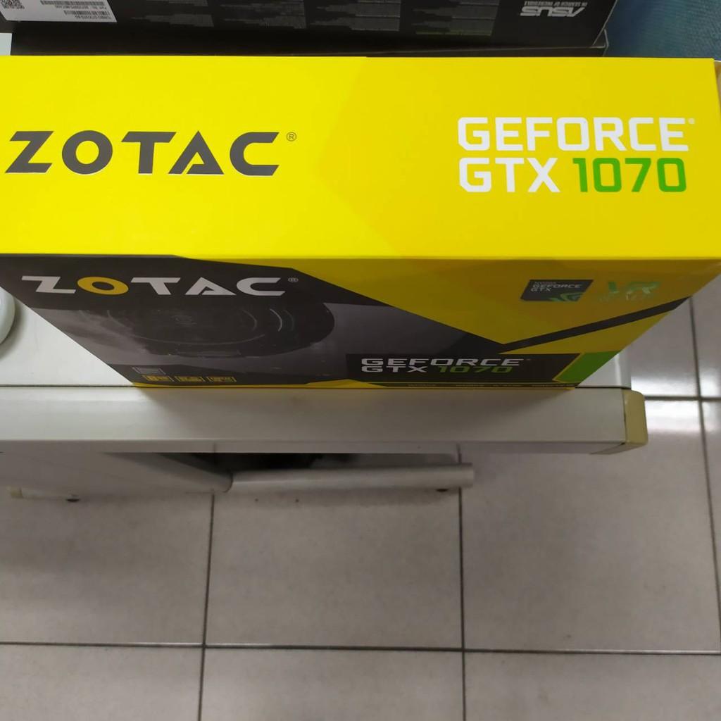 二手ZOTAC GTX 1070顯示卡包裝盒(空盒)