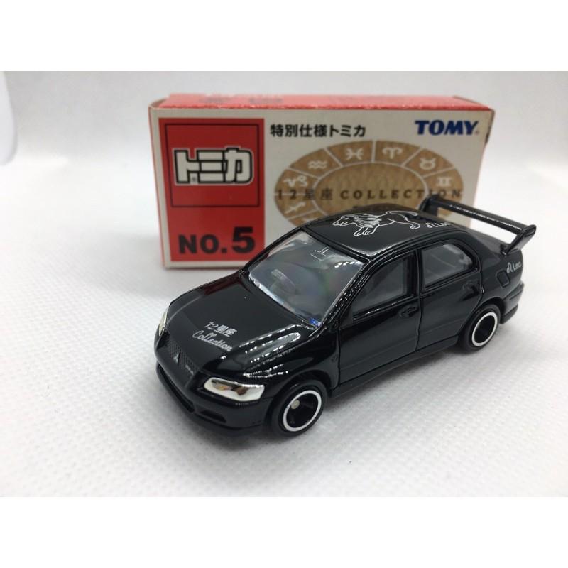 [FuFu日貨]トミカ TOMICA 舊藍標 星座系列 NO. 5 三菱 EVO