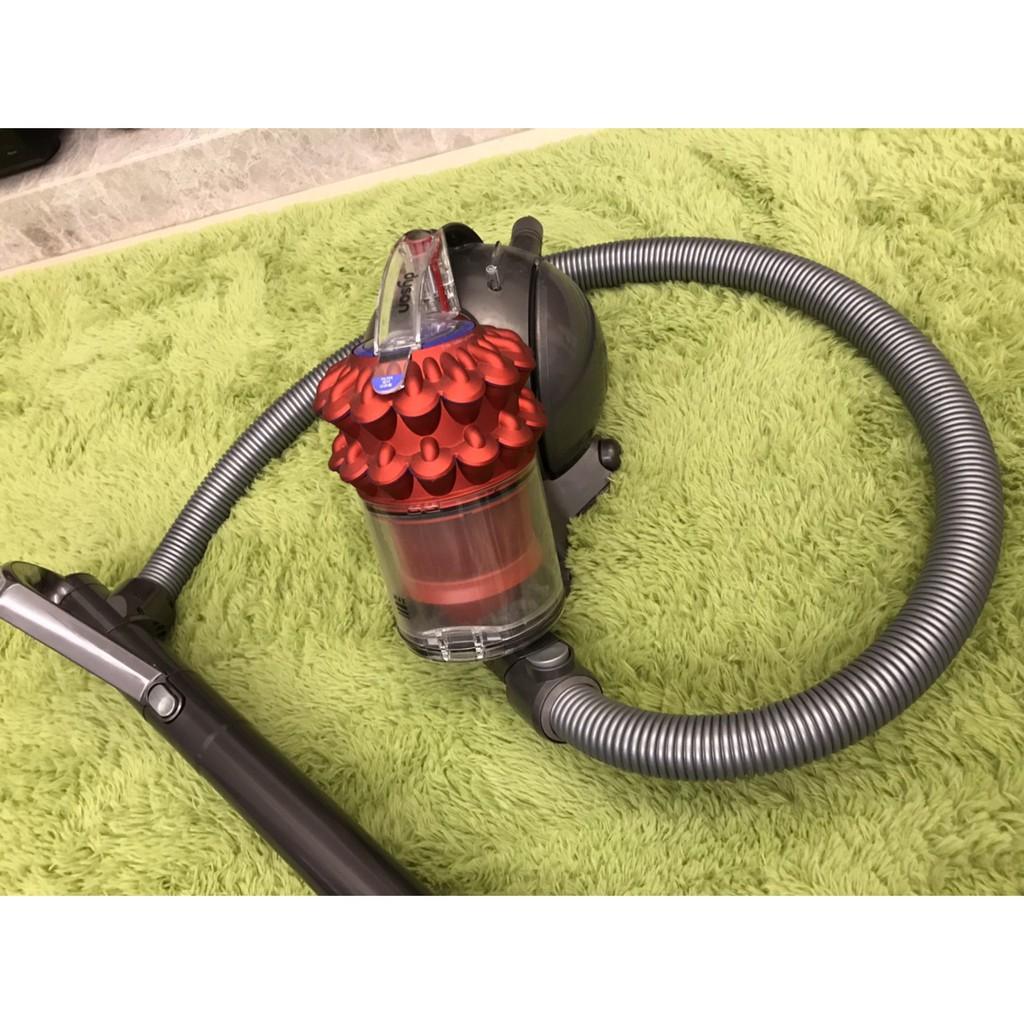 Dyson Ball fluffy+ CY24 圓筒式吸塵器(絢麗紅)