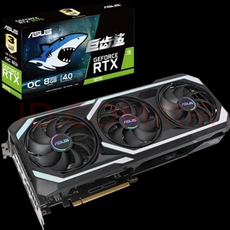 【批發賣場 立減300】適用於華碩ROG RTX3090 O24G台式機電腦電競遊戲獨立顯卡 0REw