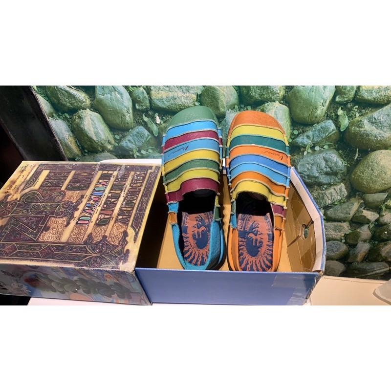 全新麥坎納macanna絕版彩虹鞋43號