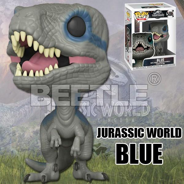 BEETLE FUNKO POP 侏羅紀世界 侏羅紀公園 小藍 JURASSIC WORLD 2 BLUE