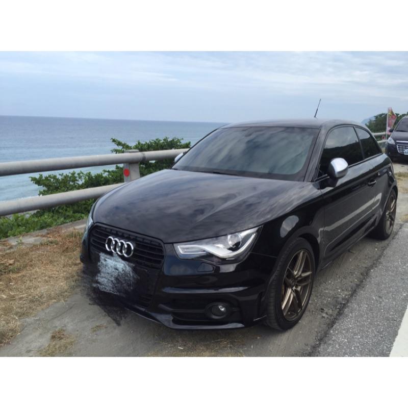 自售Audi A1 TFSI  渦輪增壓  全車精品 Sline套件 改裝市值超過30萬 無誠勿試 誠可議價