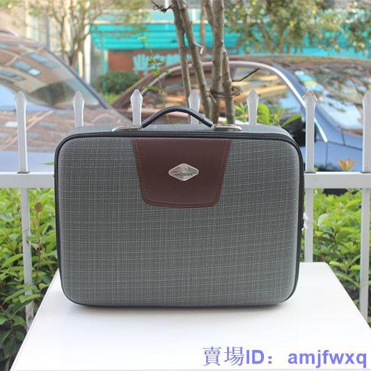 新款商務旅行箱男士公文箱手提箱密碼箱小旅行箱行李箱包14寸16寸