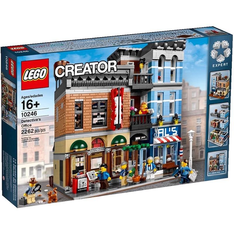全新 樂高 LEGO 10246 偵探事務所 偵探社 街景系列 10185 10224 10190 10211
