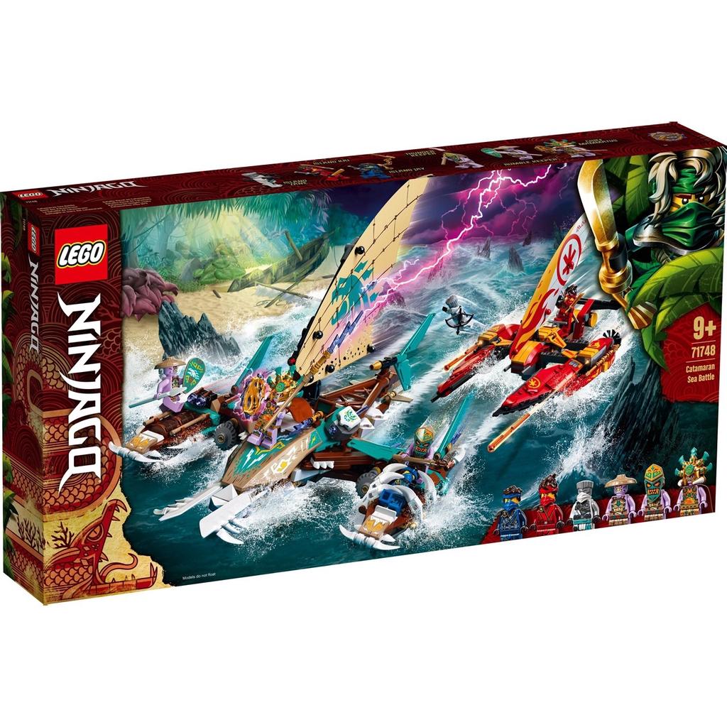 LEGO 71748 炫風忍者系列 雙體船海上大戰【必買站】樂高盒組
