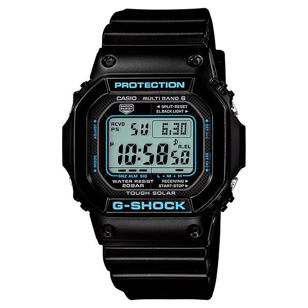 CASIO卡西歐G-SHOCK 絕對強悍太陽能六局電波錶款 GW-M5610BB GW-M5610-1B