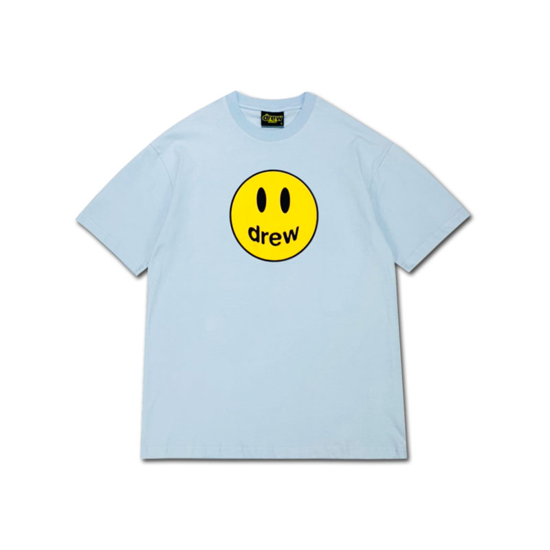 代購 Drew House Drew笑臉短袖tee賈斯汀比伯同款t恤寬松半袖潮流男女