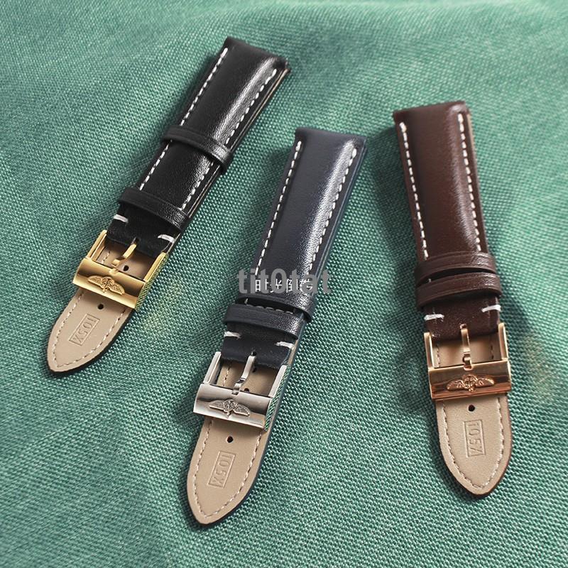 正品品質🎁小牛皮表帶 代用Breitling百年靈超級海洋系列復仇者越洋男款配件ys807