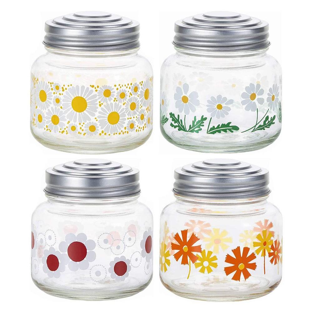 【日本ADERIA】昭和復古花朵糖果罐 - 共4款《WUZ屋子》