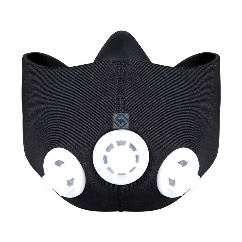 阻氧面罩健身訓練阻氧口罩阻氧面罩跑步運動面罩阻氧面具類比0現貨免運dd