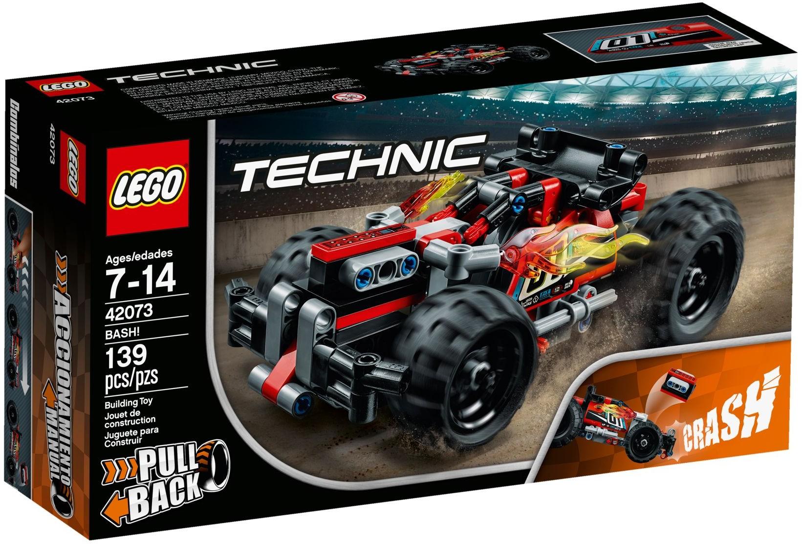 【滿天星辰】樂高玩具禮物機械組Technic高速賽車火力猛攻42073積木LEGO