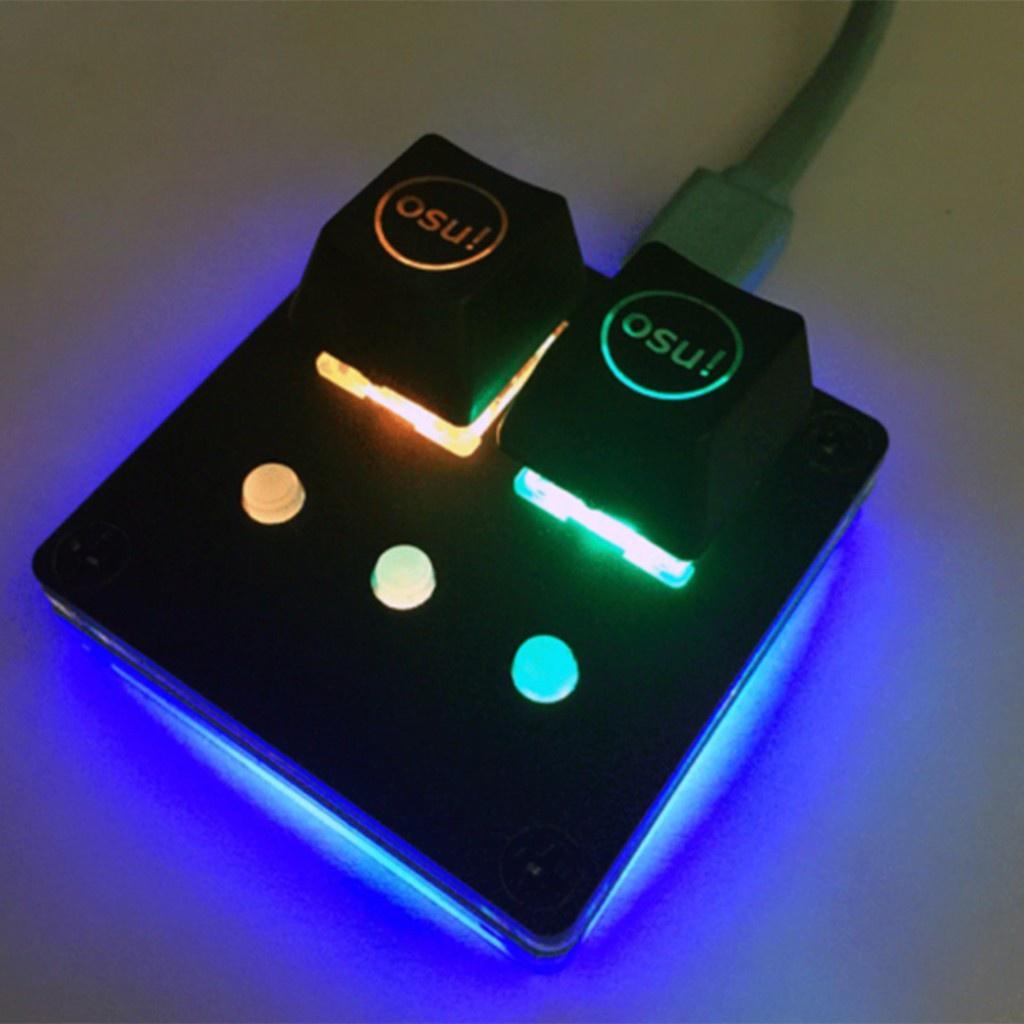 【24小時發貨】1設置新的AmusingKeypad V3.1 osu!鍵盤可編程鍵盤CherryRGB-Switch