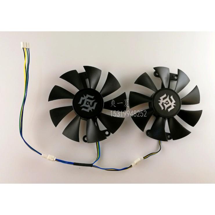 全新索泰GTX 1050 1060-6GD5 X-Gaming OC GTX950 960霹靂版顯卡風扇