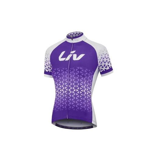 全新 公司貨 捷安特 GIANT Liv BELIV 女性短袖自行車車衣 紫白