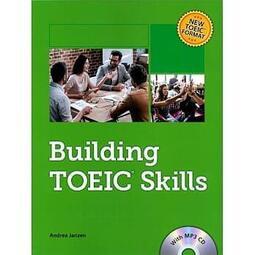 <讀好書>東華 Building TOEIC Skills with MP3 CD/1片 9781944879761