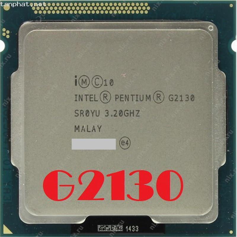 Intel Pentium G2130 雙心核處理器 / 1155腳位/ 3.2G / 3M 快取、內建顯示、附風扇
