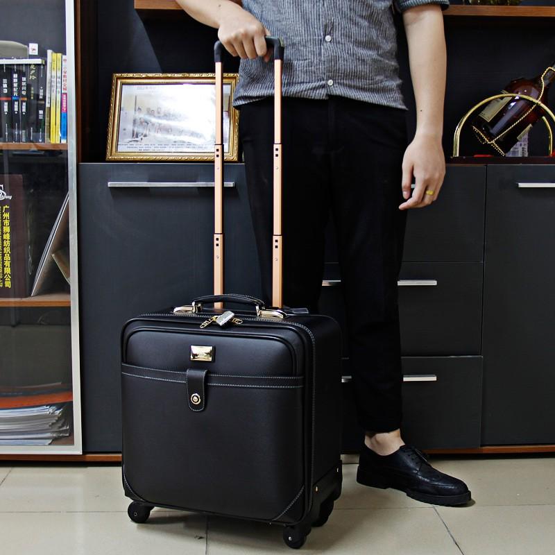 【米瑞】獵豹行李箱萬向輪拉桿箱商務旅行箱拉桿箱