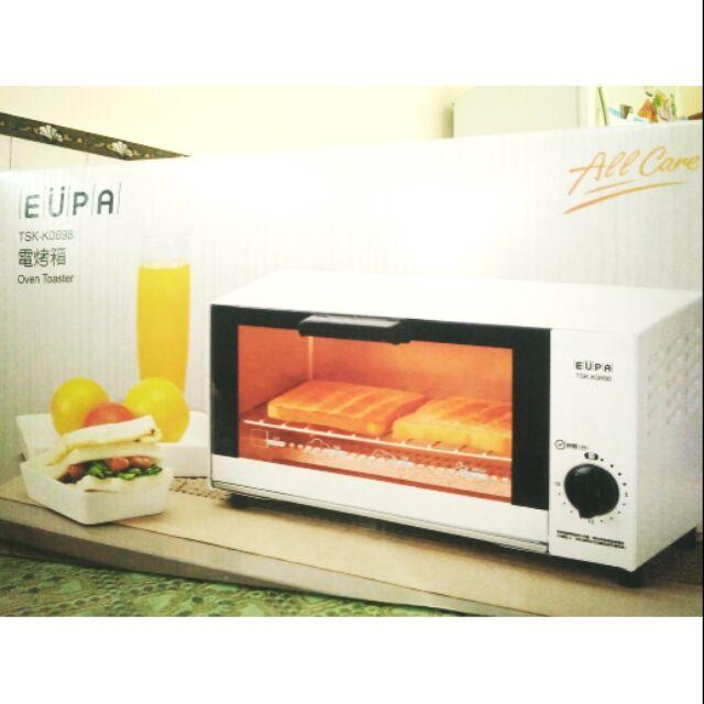 全新 EUPA 電烤箱 TSK-K0698 6L 麵包 吐司 髒髒包