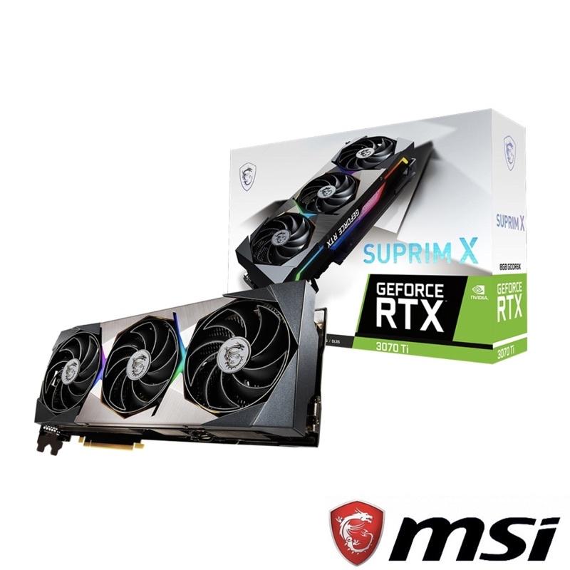 GeForce RTX™ 3070 Ti SUPRIM X 8G
