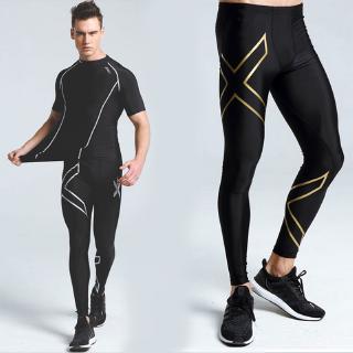 2XU壓縮褲 健身緊身褲長褲 運動褲男 速干跑步褲 訓練褲 彈力褲 女瑜伽褲